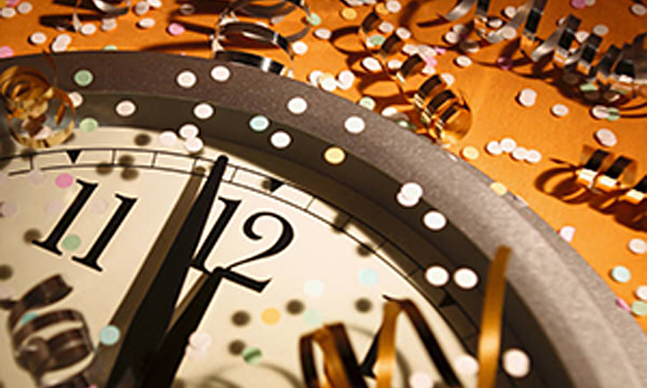 A New Year Without My Loved One In It New Year Clock