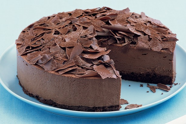 Milk Chocolate Mousse Cake Recipe Taste Com Au