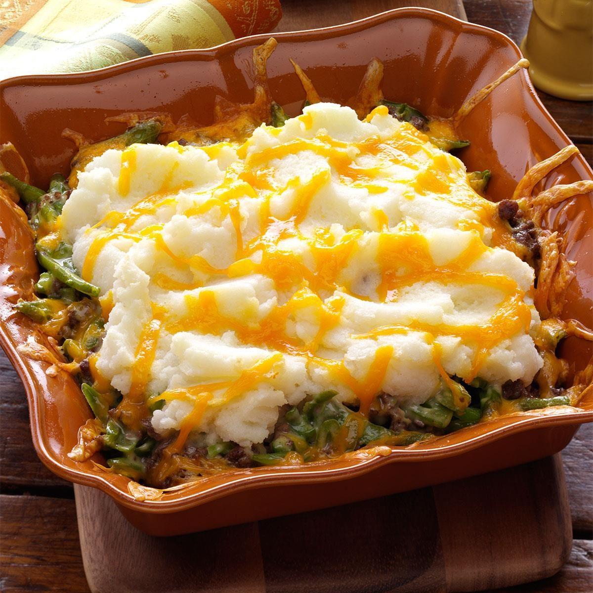 Mashed Potato Hot Dish Recipe Taste Of Home