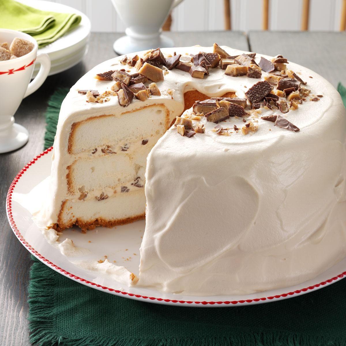Toffee Angel Food Cake Recipe Taste Of Home