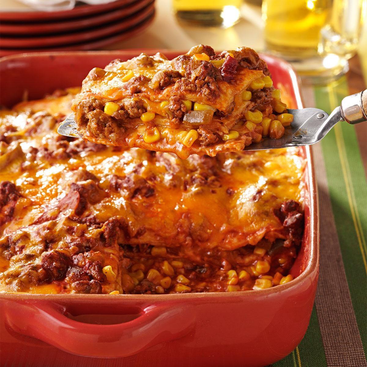 Enchilada Casserole Recipe Taste Of Home