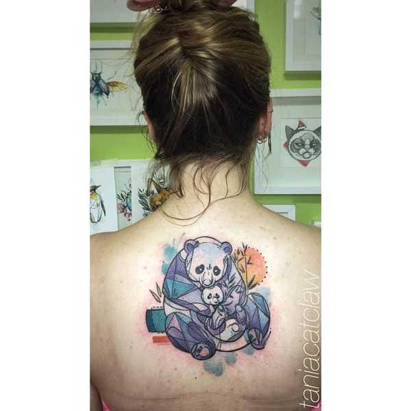 Unwiderstehliche Panda Tattoos Tattoo Spirit