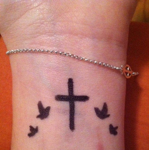 Christian Symbol Strength And Hope