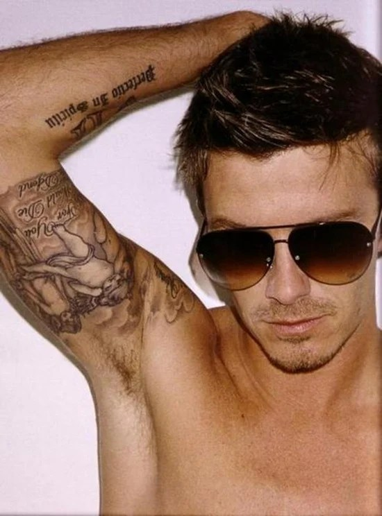 David Beckham Tattoos Designs