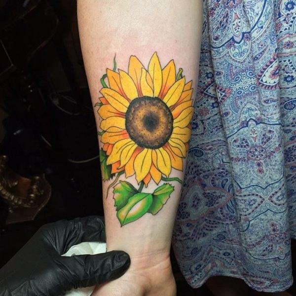 53 Sunflower Tattoos: Blossoms Seeking Out Light