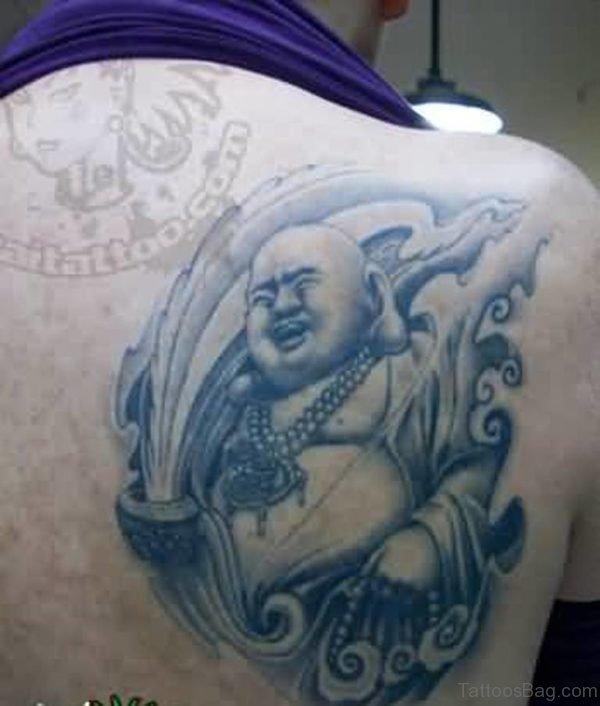 63 Fantastic Buddha Tattoos For Back
