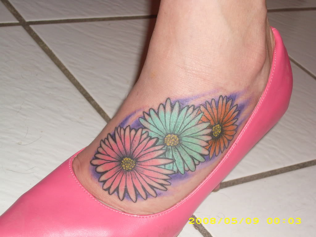 Tattoos White Black Flower Lily And