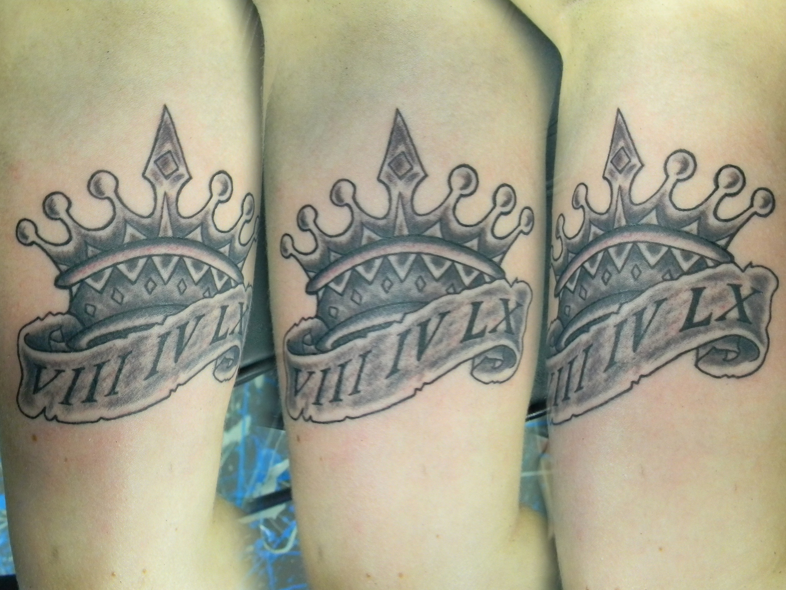 Crown Tattoos Hand Men