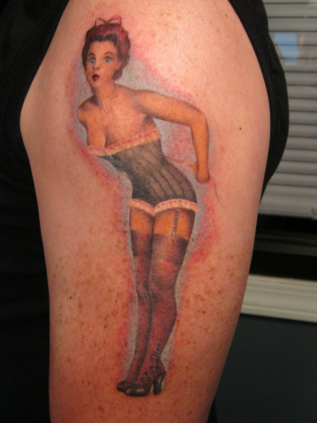 Pin Up Tattoos Designs, Ideas and Meaning | Tattoos For You