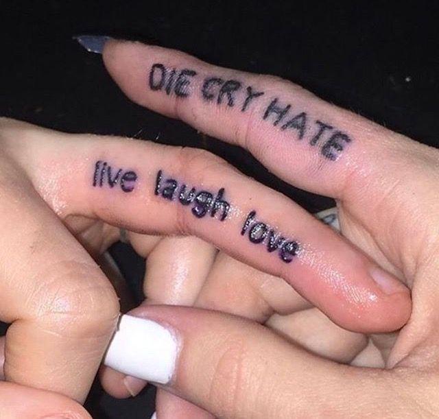 Live Laugh Love Tattoo Designs