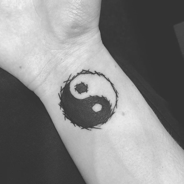 Yin Yang Tattoos Designs Ideas And Meaning Tattoos For You