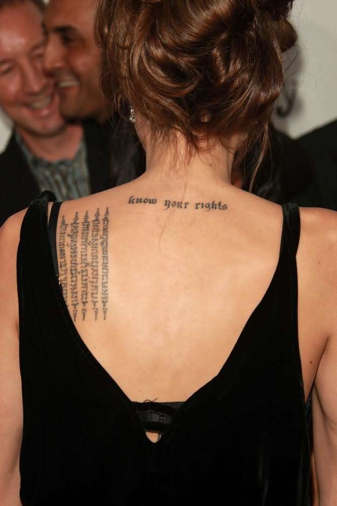 Knife Tattoos For Women