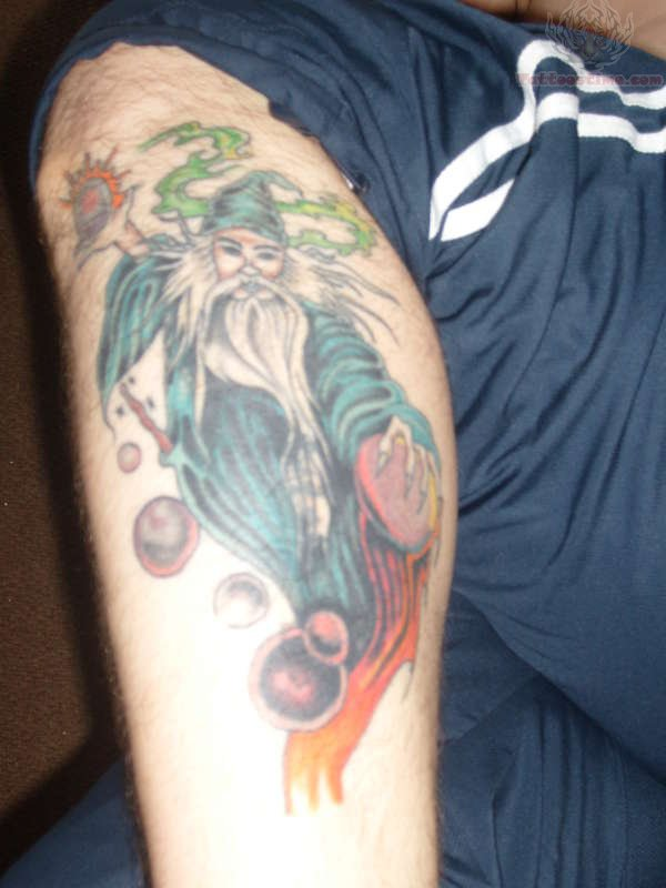 Wizard Tattoo Images Amp Designs