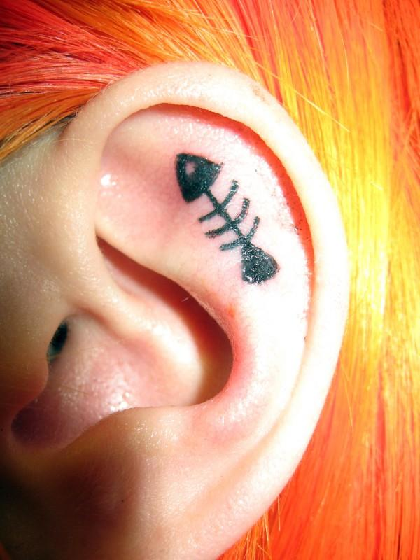 Ear Tattoo Images Amp Designs