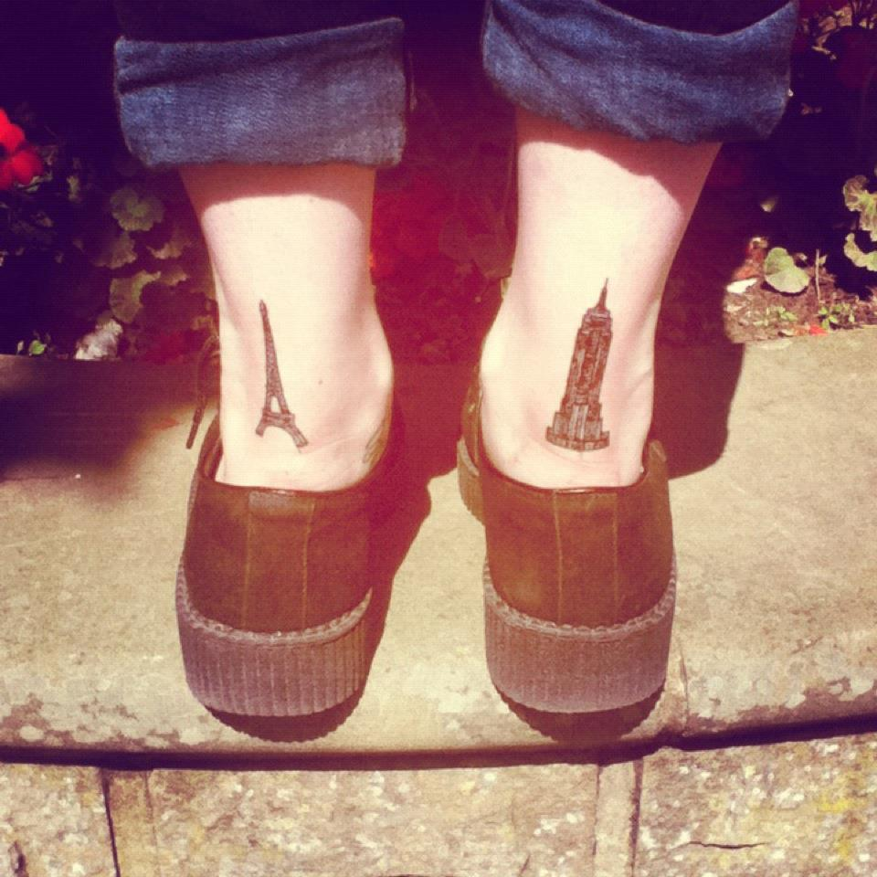 Dragonfly Your Tattoos Foot