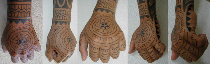 Sagittarius Tribal Woman Tattoo