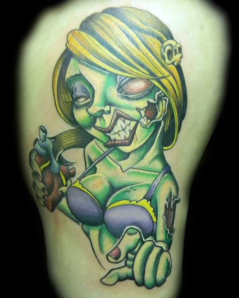 Last Laugh Zombie Clown