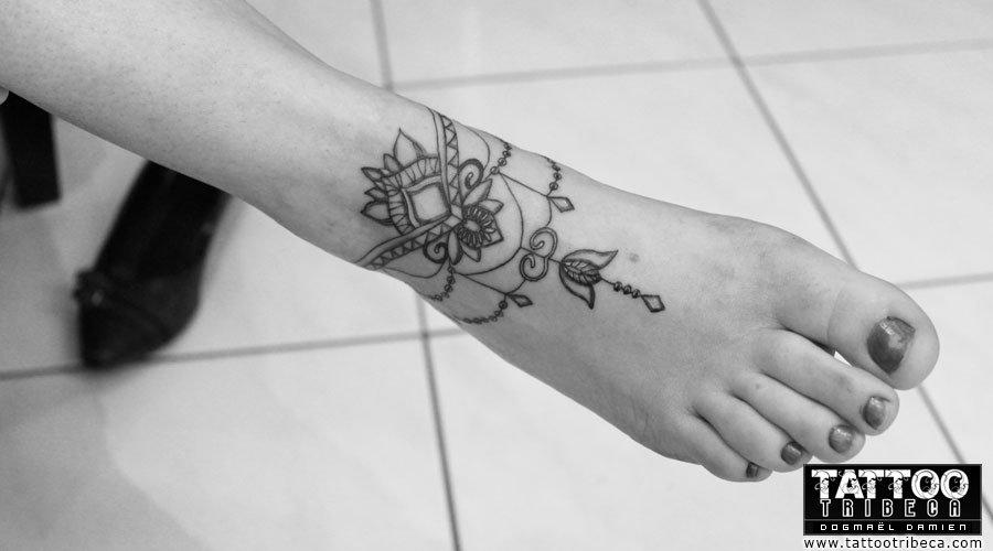 Tattoo Bracelet Mandala