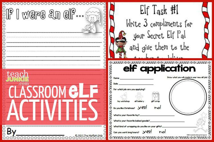 Writing Christmas Pinterest Activities