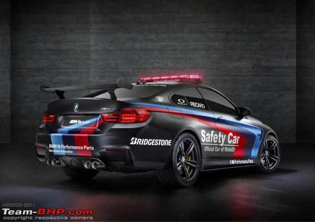 2015 Motogp Safety Car Bmw M4 With Water Injection