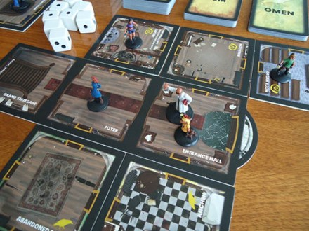 Betrayal at House on the Hill   Team Board Game Betrayal at House on the Hill     Tiles