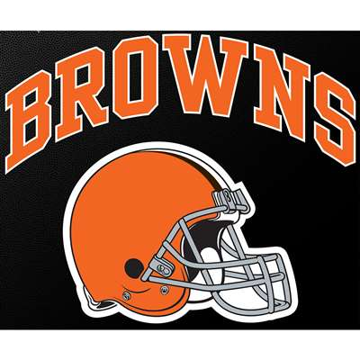 """Cleveland Browns Full Color Die Cut Transfer Decal - 6"""" x 6"""""""