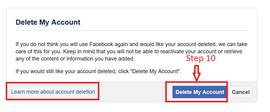 Account My Now Permanently Facebook How Delete Can I