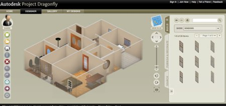 AutoDesk DragonFly   Online Home Design Software autodesk dragonfly 3d home design
