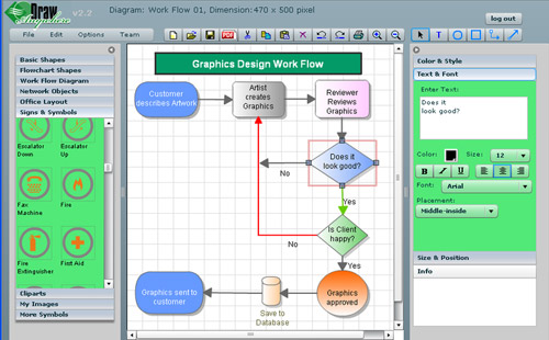 Draw Diagrams Free Online - Block And Schematic Diagrams •