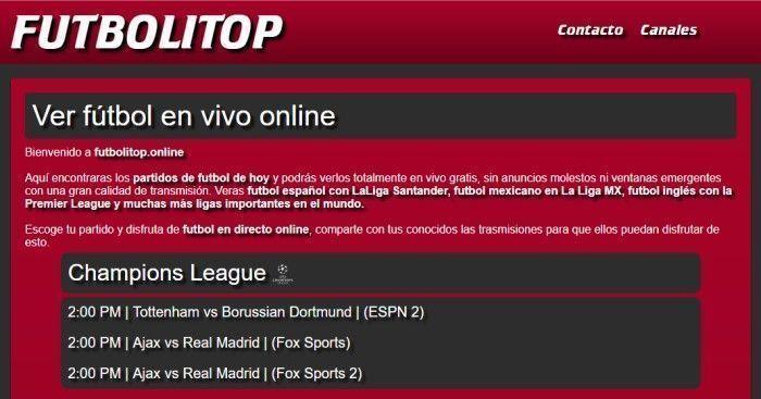 🥇Ver Fútbol Online gratis en directo 🏆Fútbol en Vivo por Internet