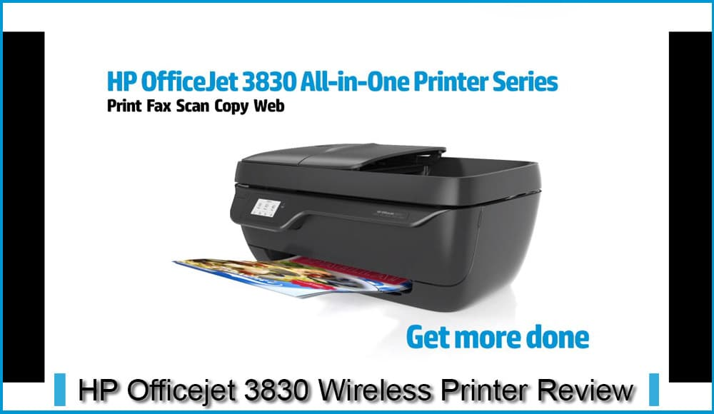 Hp Officejet 3830 Wireless Printer Review