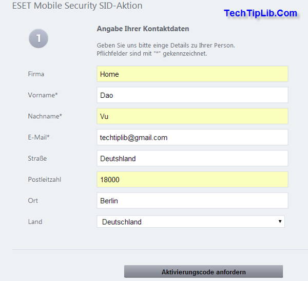 Eset Mobile Security 1 Year License