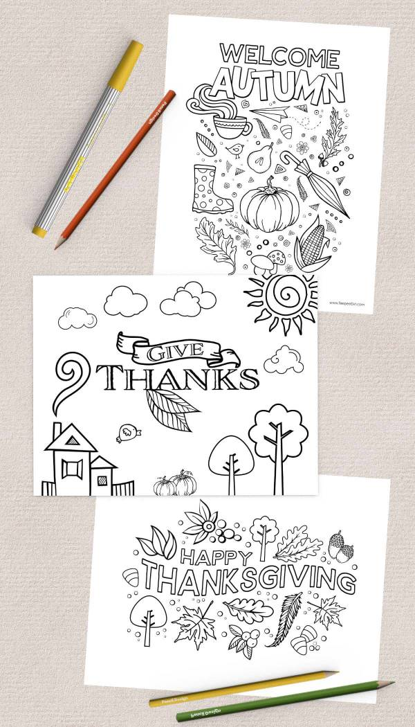 thanksgiving coloring pages free # 26