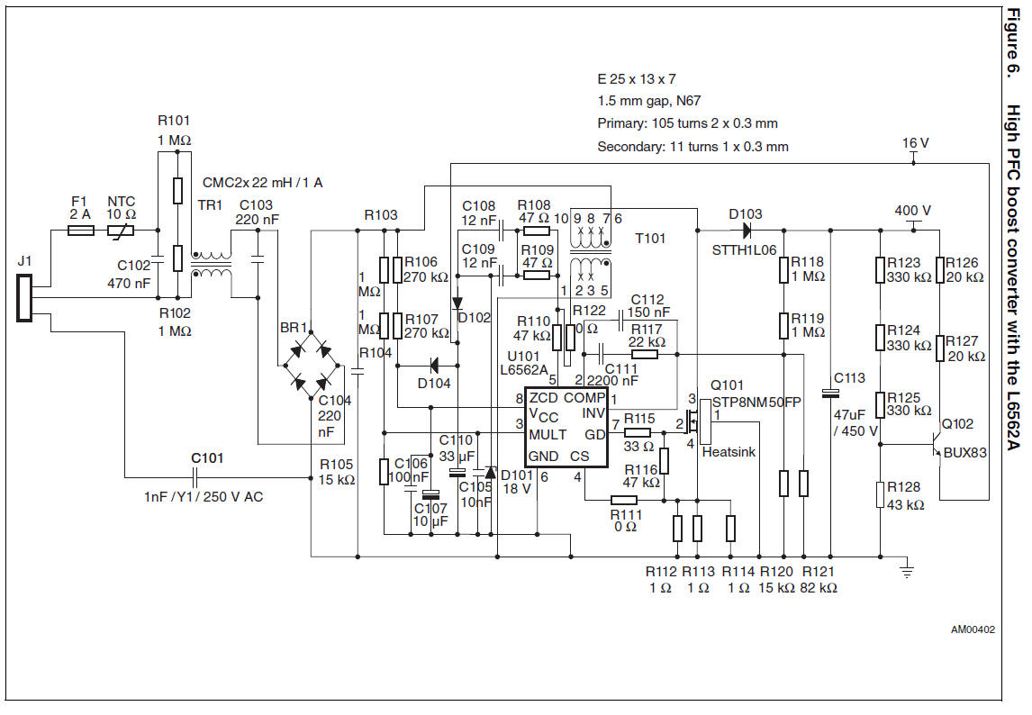 Subwoofer Crossover Schematic