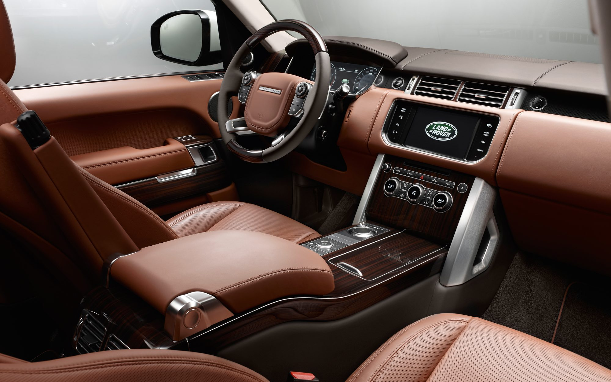The best car interiors   Cars Range Rover interior