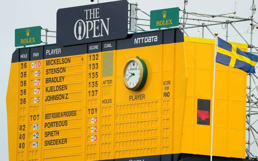 The Open 2016 leaderboard  live scores on final day at Royal Troon The Open leaderboard at Royal Troon