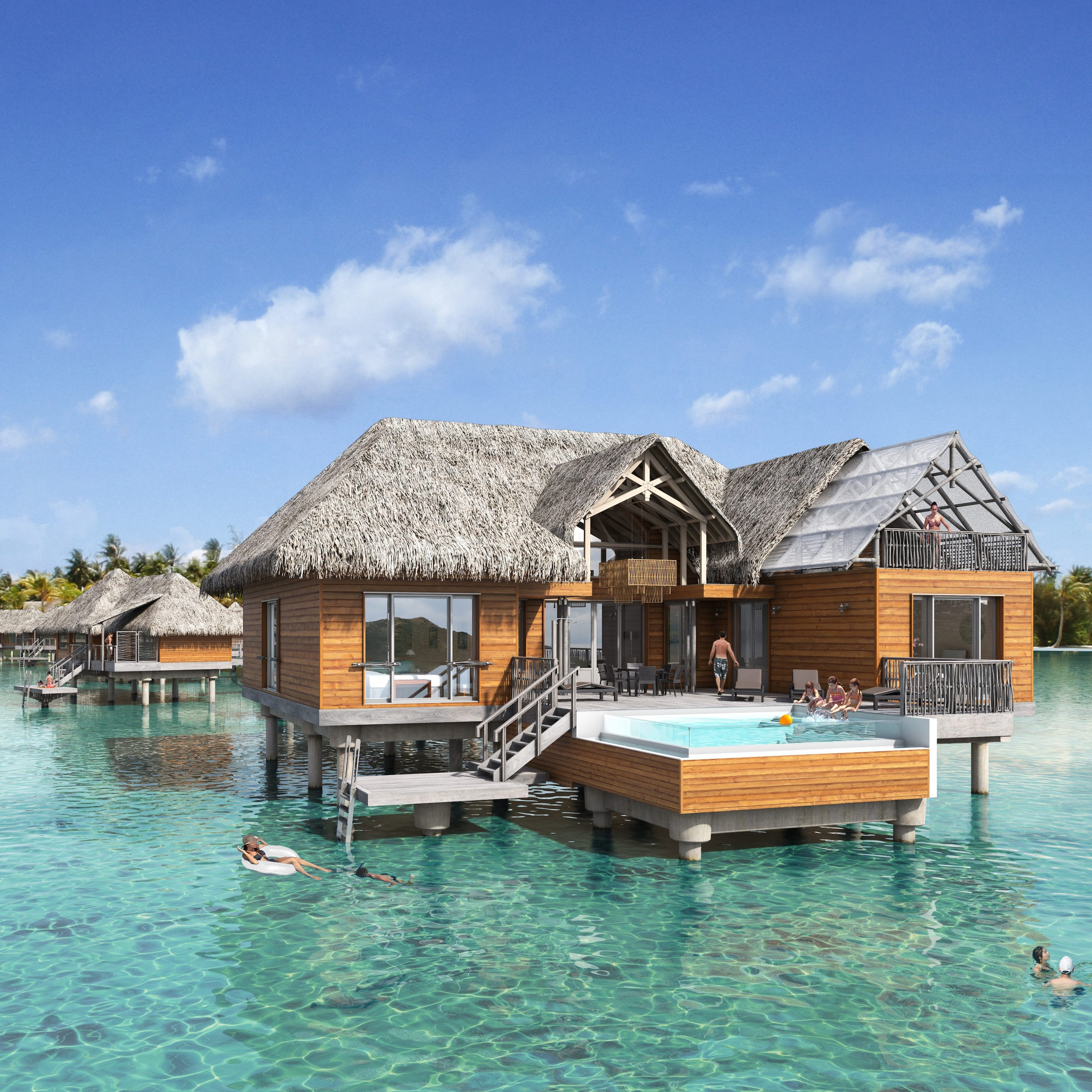 French Polynesia's most exclusive resort, The Brando ...