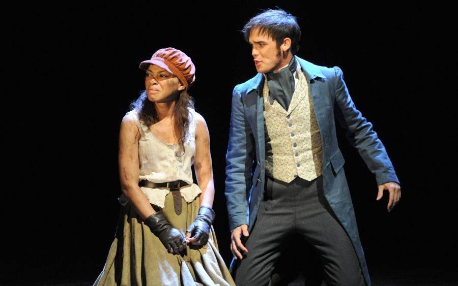 30 Reasons why Les Mis has lasted 30 years Rosalind James as Eponine and Gareth Gates as Marius in the 25th  Anniversary production of Les