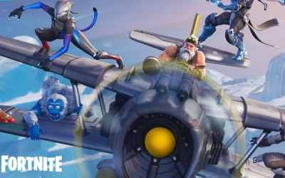 Fortnite Season 7 live with new planes, ziplines, custom ...