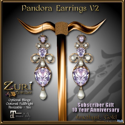 10 Year Anniversary Pandora Charms