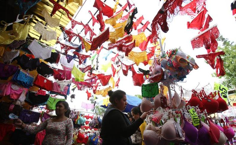 Eat  Pray  Burn  Latin American New Year Traditions   Multimedia     Red and yellow underwear displayed for the new year  Dec  30  2015
