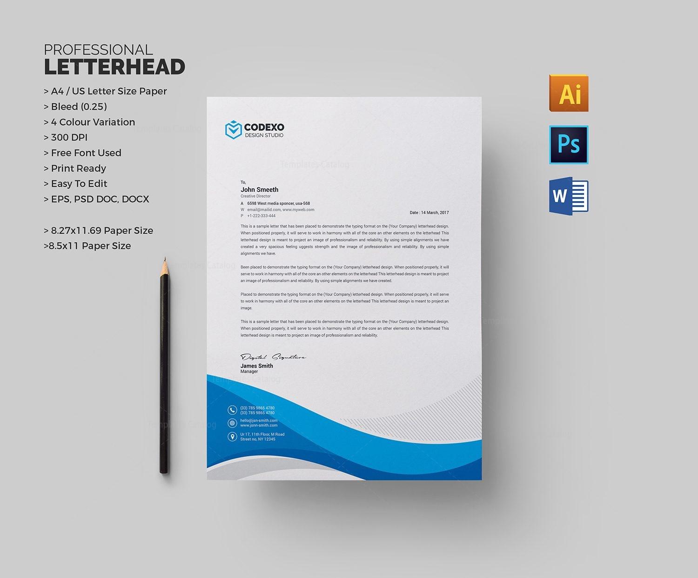 cool letterhead