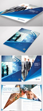 18 Best and Creative Brochure Design Ideas for your inspiration         4 brochure design template