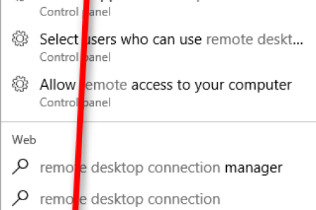 remote desktop connection an internal error has occurred
