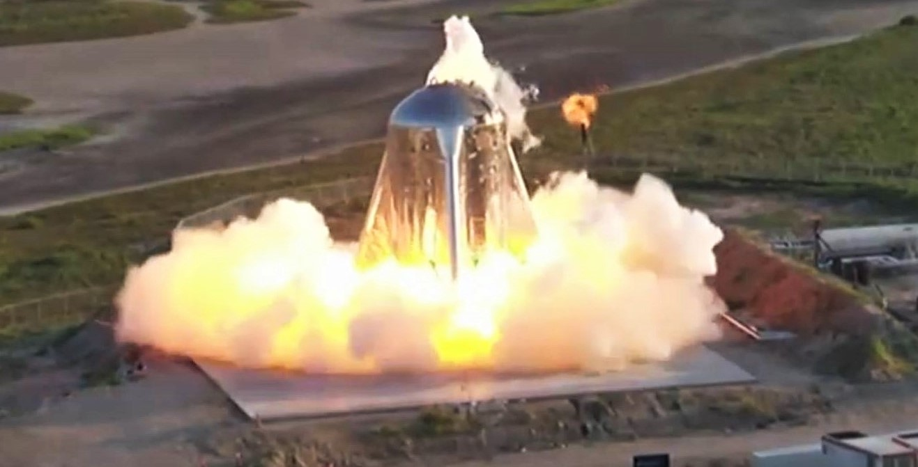 Spacex S Starhopper Aborts First Free Flight After