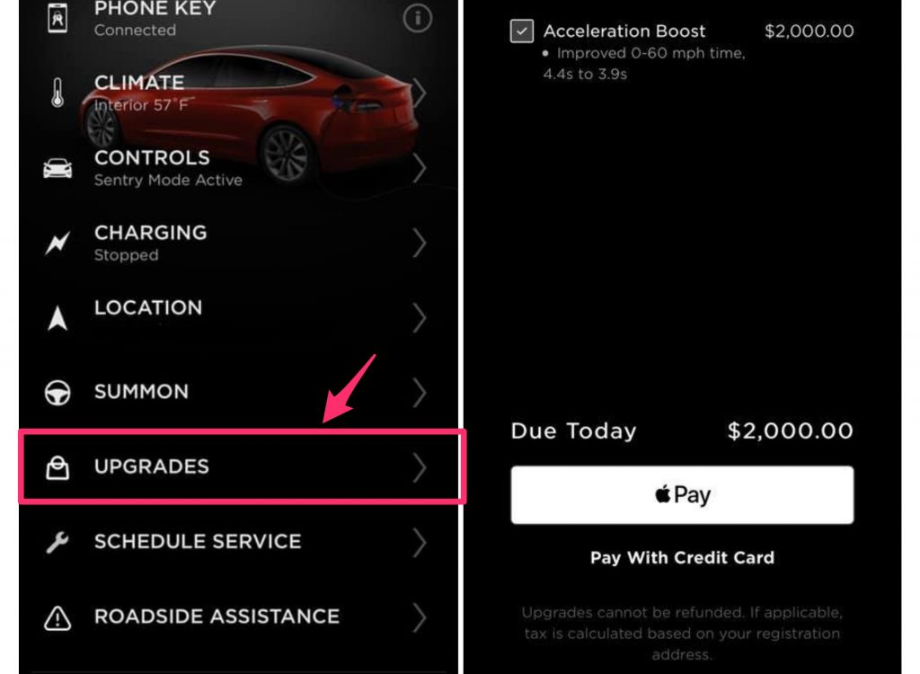 Tesla Rolls Out Model 3 Acceleration Boost As In App
