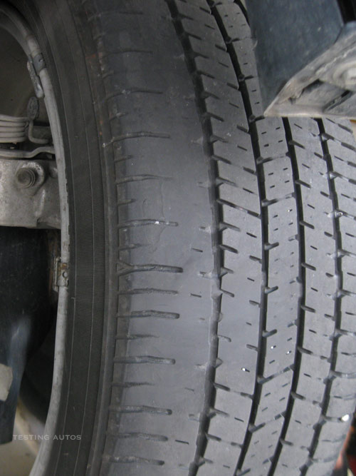 What Do Old Car Tires