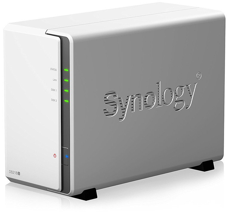 Synology DS218J NAS 2 Baies-Logo
