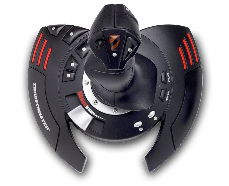 ThrustMaster T.Flight Stick - Joystick configuración directa despegue inmediato - PC