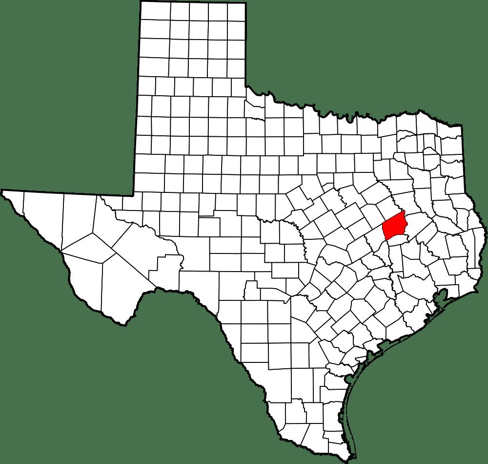 Map Upshur County Tx